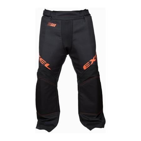 EXEL S60 brankárske nohavice black/orange SR