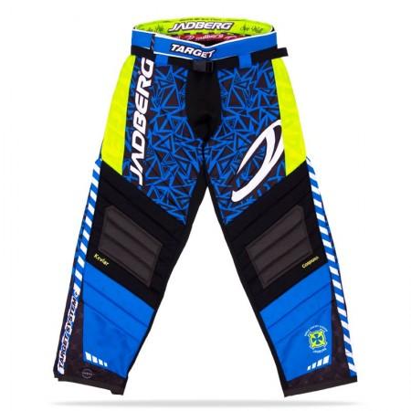 Jadberg Target Pants Blue brankárské nohavice