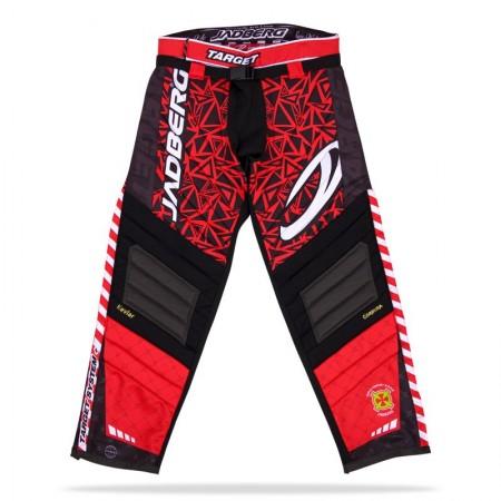 Jadberg Target Pants Red brankárské nohavice