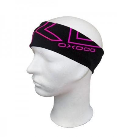 OXDOG čelenka SHINY-2 HEADBAND black/pink