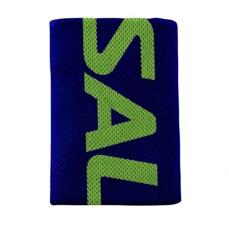 SALMING Wristband Mid Navy/Gecko Green
