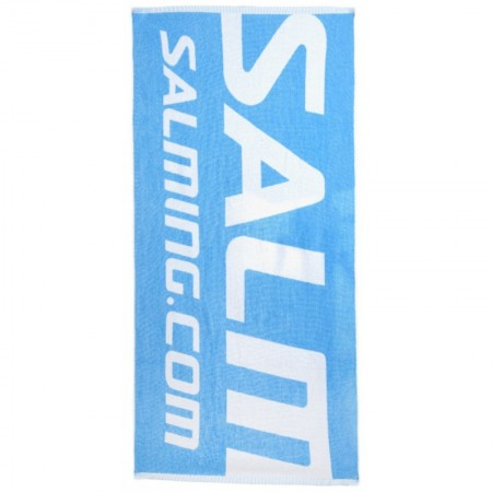 SALMING Shower Towel Blue/White