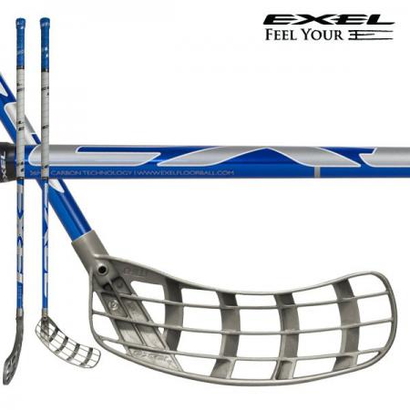 Exel hokejka EDGE 2.6 Blue Chrom 103 Round