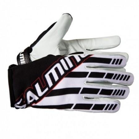 SALMING Atilla Goalie Gloves White/Black Brankárske rukavice