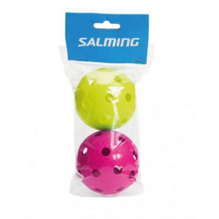 Salming floorball loptičky 2-pack